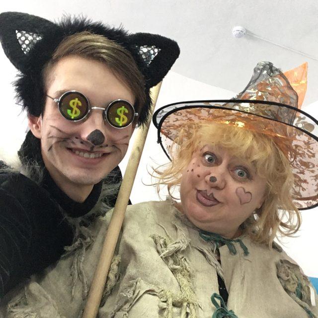 Кот и Баба Яга
