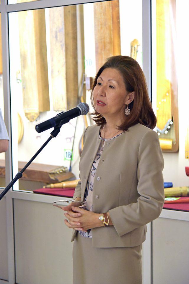 Министр культуры Хакасии Татьяна Чаптыкова