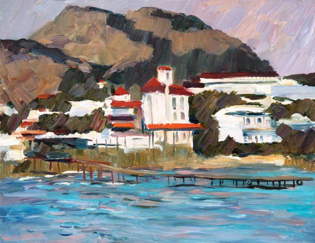 Выставка художника Александра Кобыльцова «Воссоединение с Крымом»