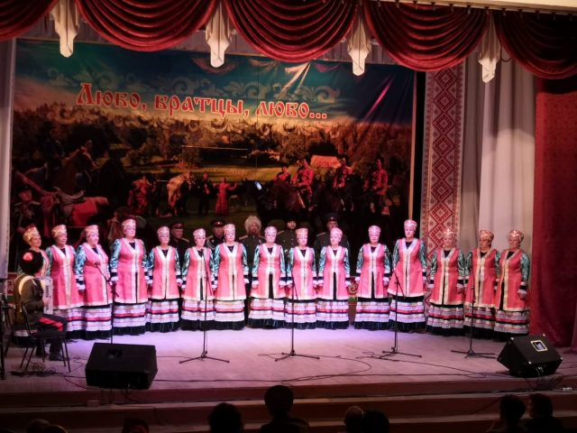 лауреат III степени – русский народный хор Центра культуры, творчества и спорта